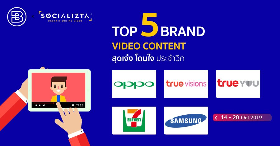 Top 5 Brand Content Video #67 | Oct 2019