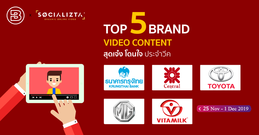 Top 5 Brand Content Video #71 | NOV 2019